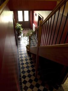 Les chambres d'hôtes sont situées à l'étage de la maison