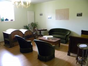 Chambres d'hôtes Meuse - Salon détente