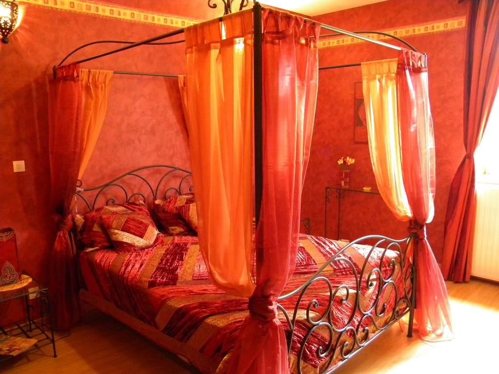 Chambre d'hôtes l'orientale   villa claudette en meuse