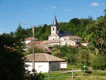 Vue du village de Montigny-lès-Vaucouleurs